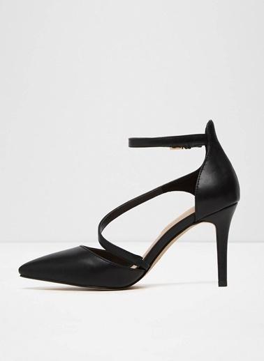 Aldo İnce Topuklu Sivri Burun Ayakkabı Siyah